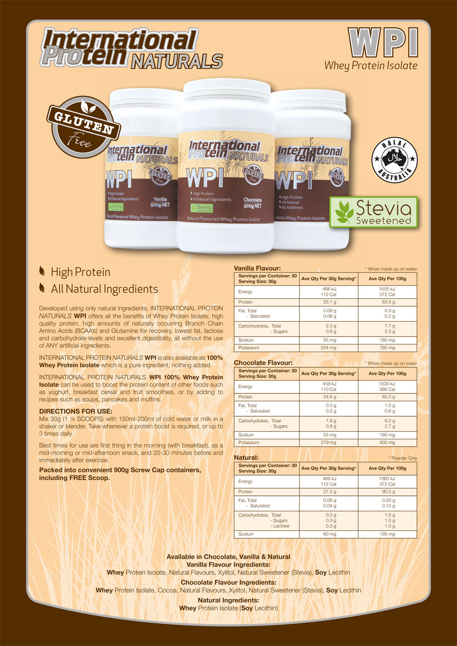 International Protein Natural WPI