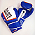Excalibur Pro Series Leather Boxing Gloves Blue
