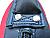 Excalibur Round Boxing Shield - Handle Stitching