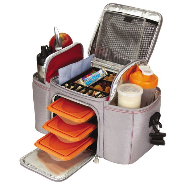 Black Red Grey Orange Open Display Of 6 Pack Bag
