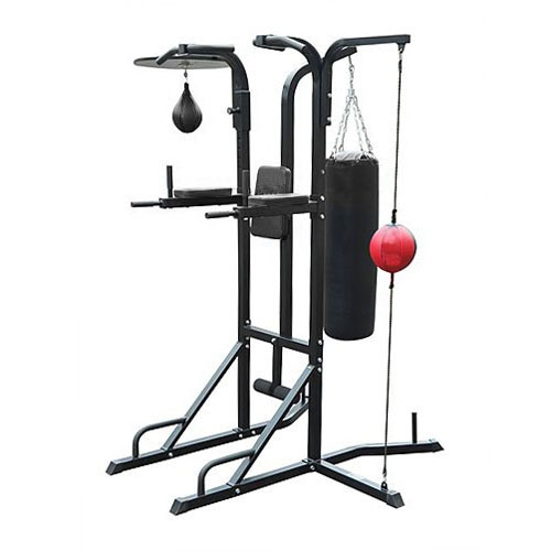 Aquila Multi-Boxing Power Stand with Punching Bags
