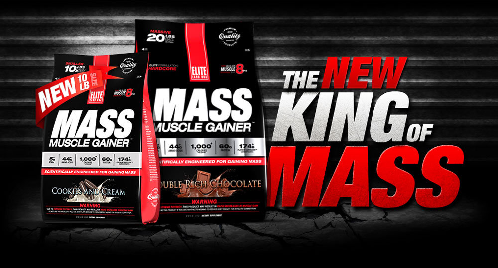 Elite Labs Mass Muscle Gainer - Hero
