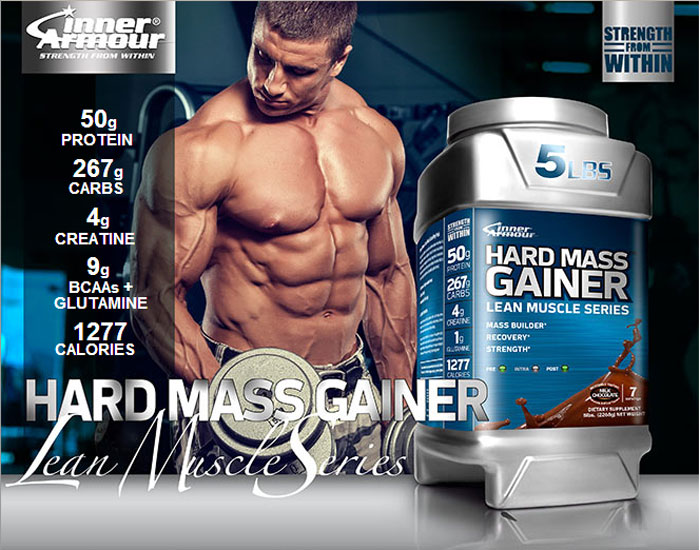 Hard Mass Gainer Protein - Promo