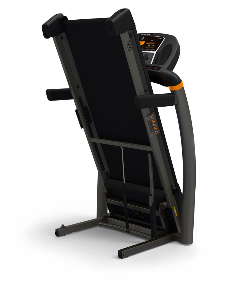 Horizon T8.0 Treadmill - Folded