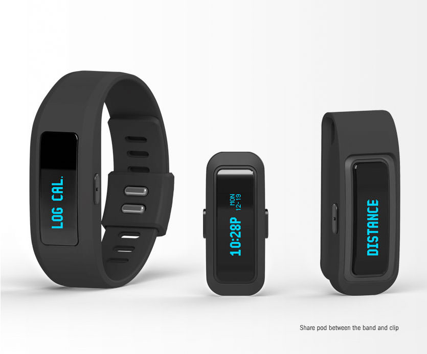 iFit Active - Share the Pod between Band or Clip