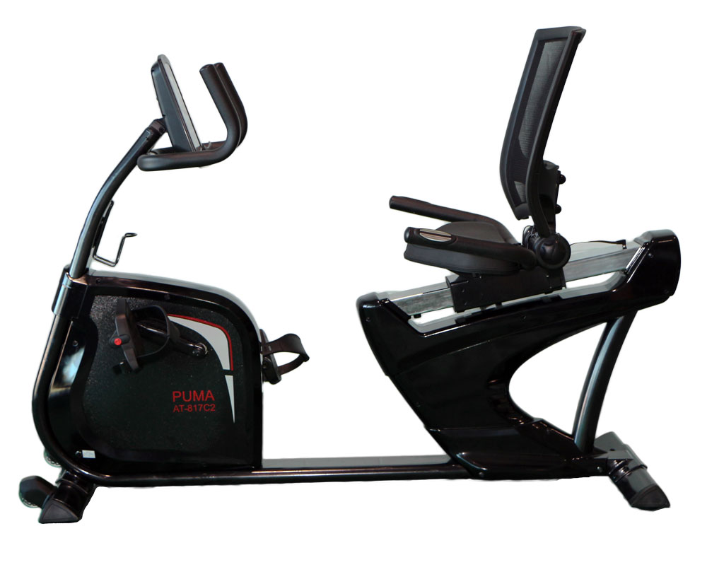 aBlaze Puma Recumbent Exercise Bike - Side View