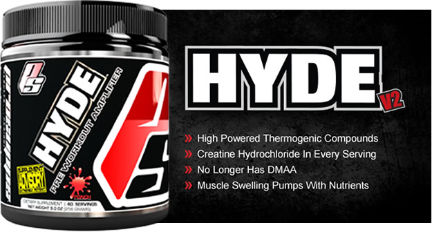 ProSupps Mr Hyde - Promo