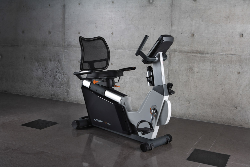 Sportop RB300 Recumbent Exercise Bike - In Setting