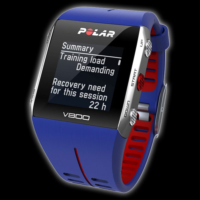 Polar V800 Fitness Monitor  - Blue/Red