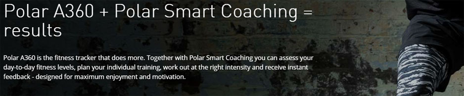 Polar A360 - Smart coaching for results
