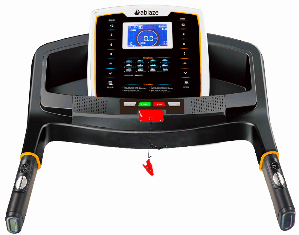 aBlaze Flume Treadmill - Console