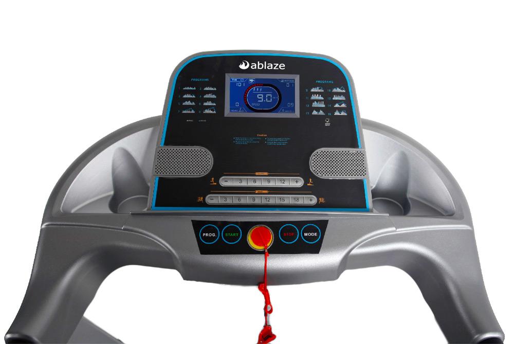 aBlaze Dash Treadmill - Console