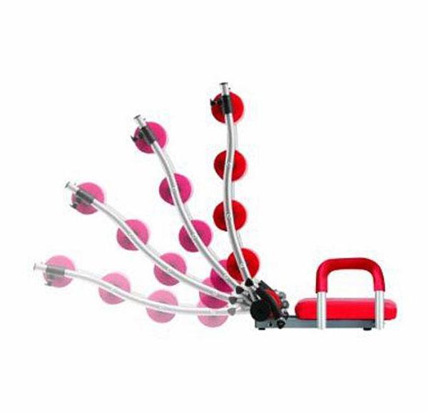 Ab Rocket Twister - range of motion