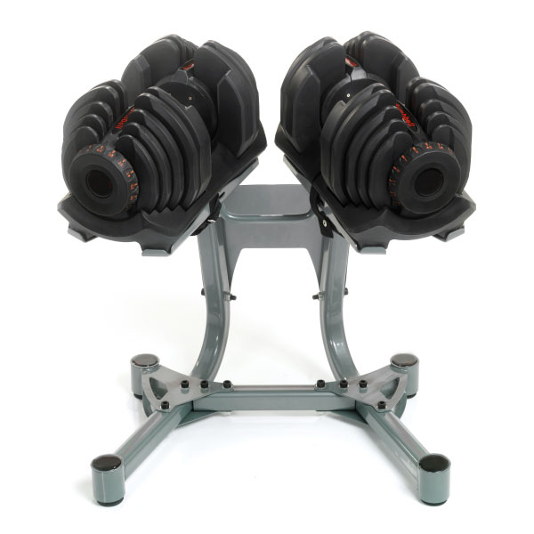 40kg Adjustable Dumbells including stand