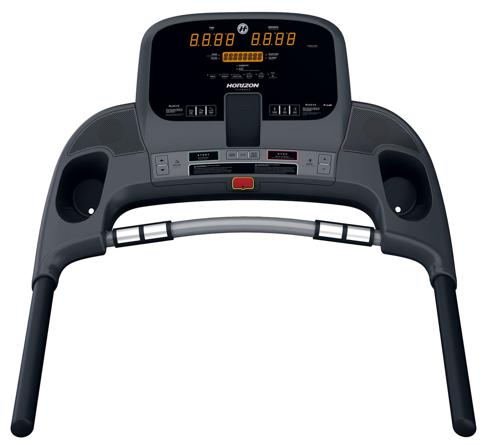 Horizon Adventure 1 Plus Treadmill - Console
