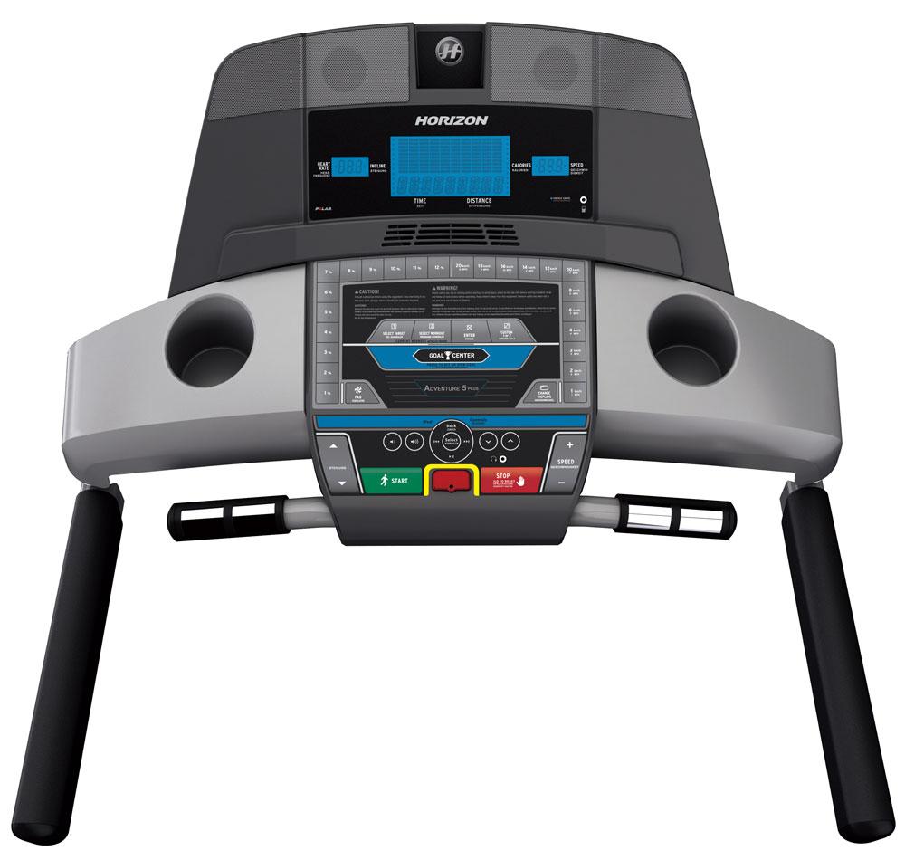 Horizon Adventure 5 Plus Treadmill - Console