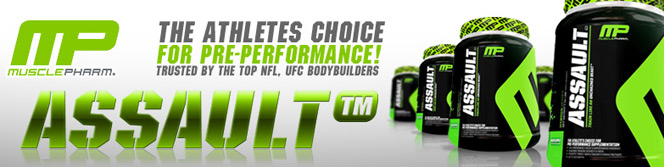 MusclePharm Assault - Banner