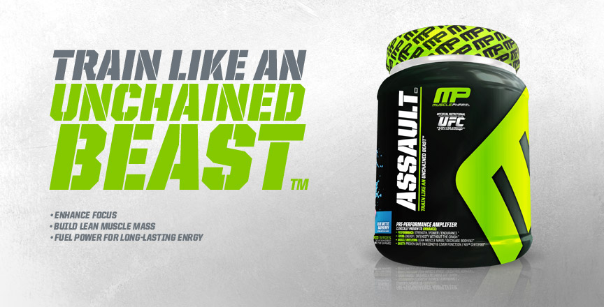MusclePharm Assault - Promo