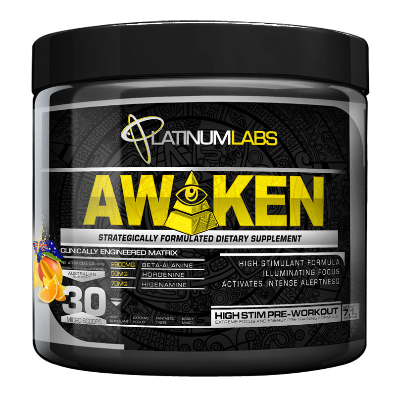 Platinum Labs Awaken Pre Workout