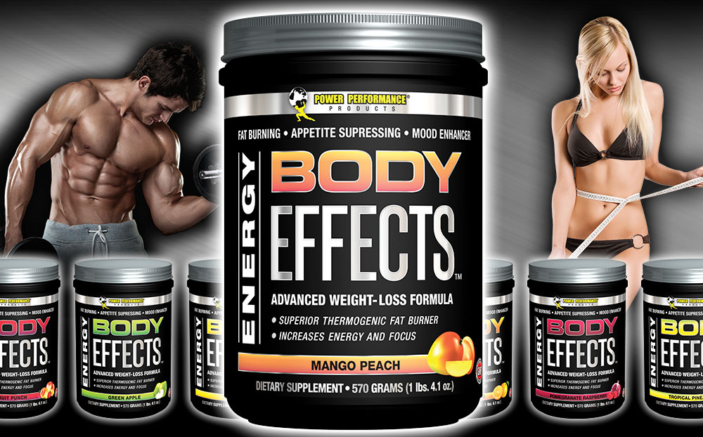 Power Performance Body Effects Weight Loss Formula Banner