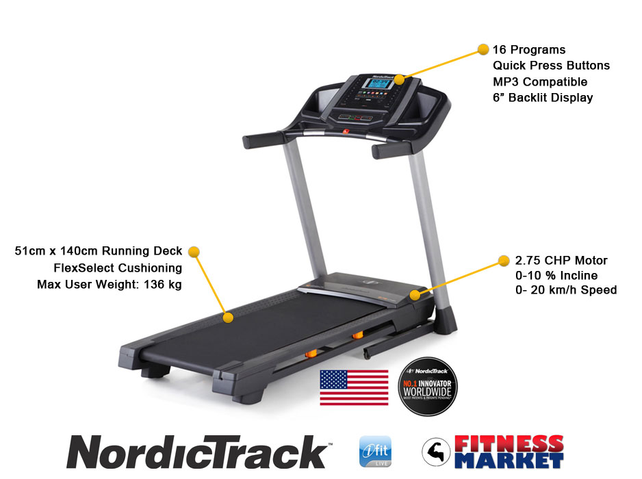 NordicTrack C220i Diagram