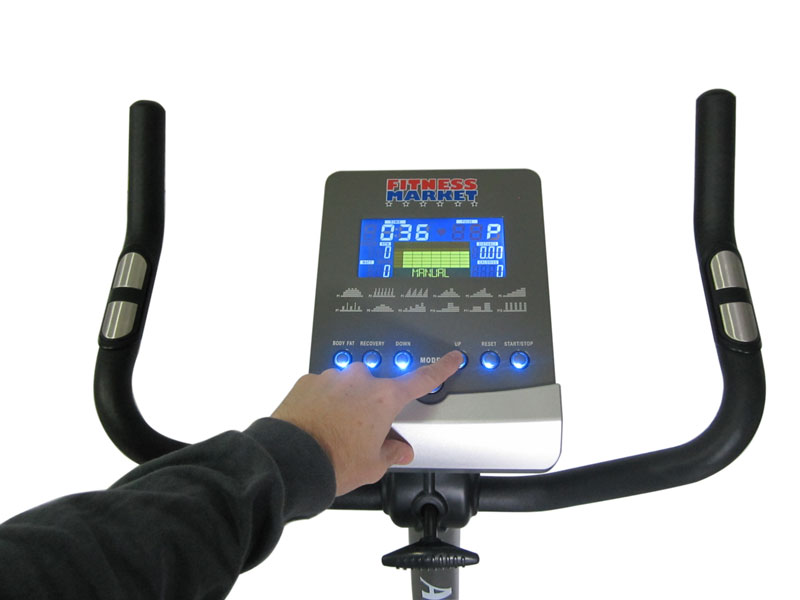Aero Exercise Bike - Console Display and Handlebars