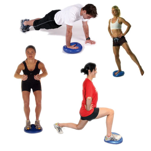 Balance Cushion demonstration