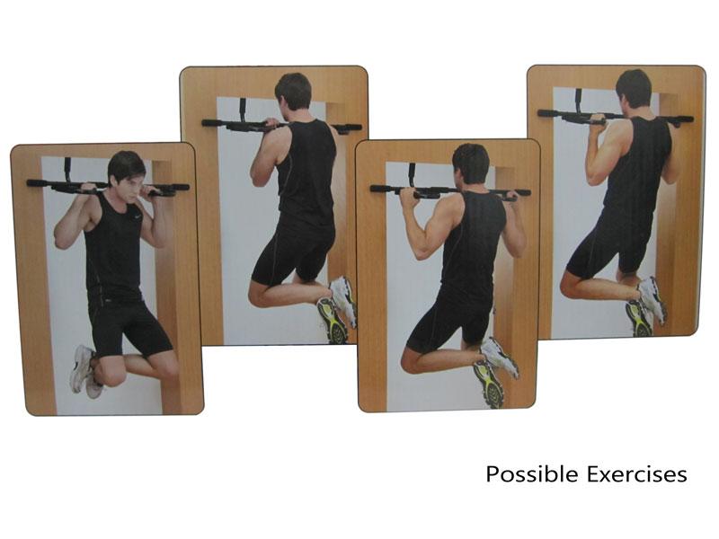 Super chin up bar door gym buy from fitness market australia for Door frame pull up bar