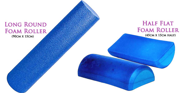 Foam roller types