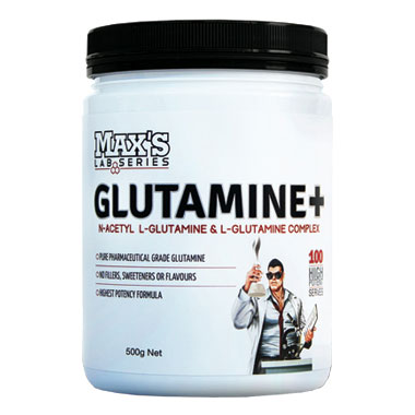 Max's Glutamine+ Powder