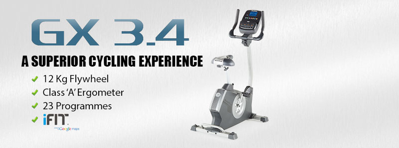 NordicTrack GX3.4 Exercise Bike - Promo