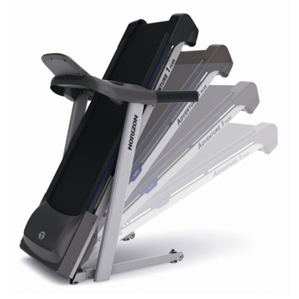 Horizon Adventure 1 Plus Treadmill - Folding