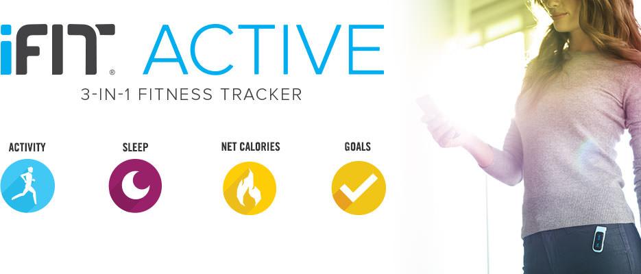 iFit activity tracker