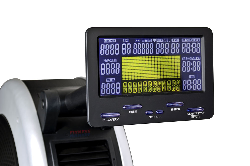 Infiniti R101 Rowing Machine - Console