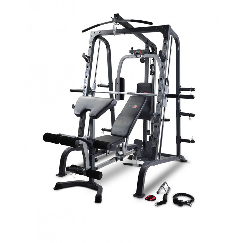 BodyWorx LX4000SM Smith Machine and FID Bench combo