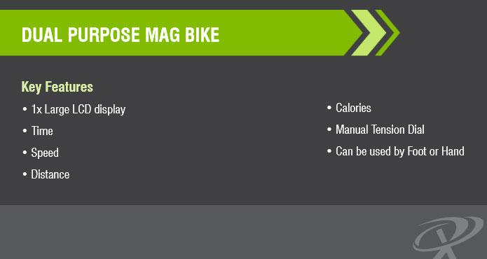 Bodyworx Dual Purpose Mag Bike Specifications