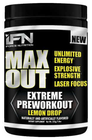 iForce Max Out Pre-Workout