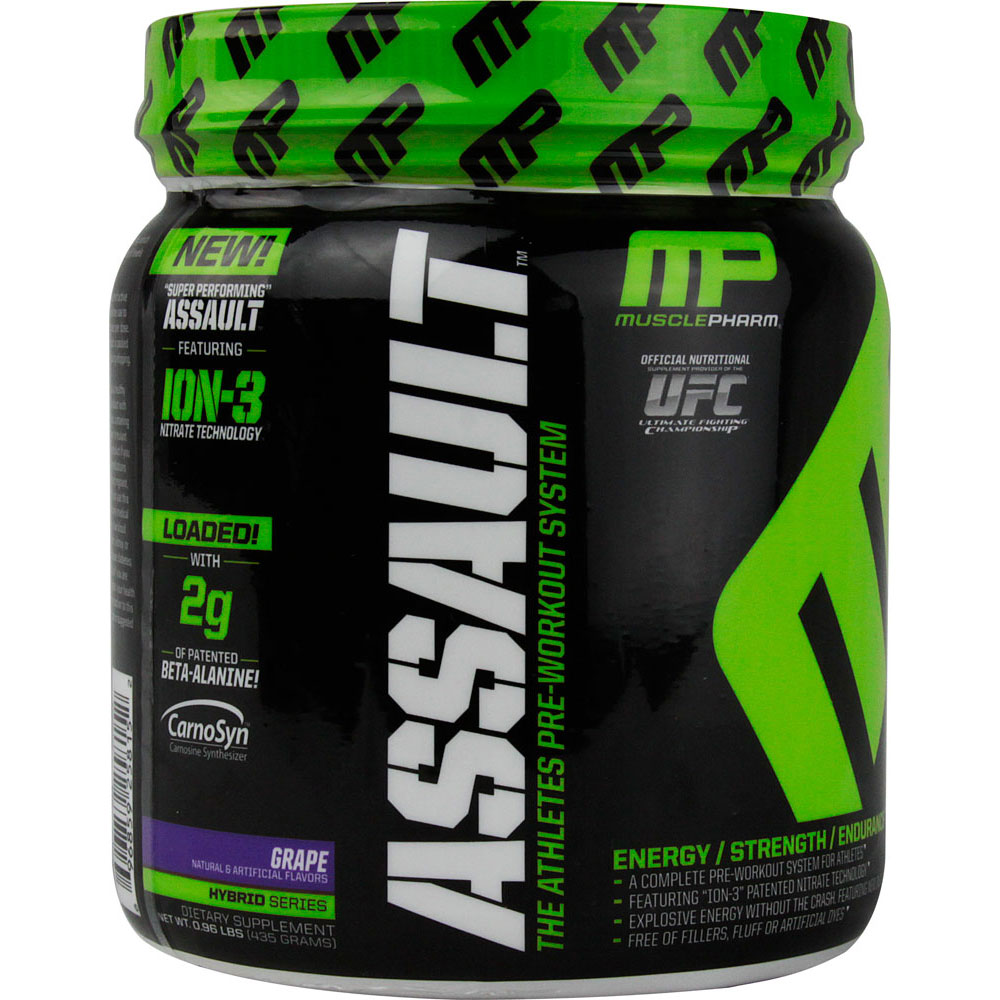 MusclePharm Assault Preworkout