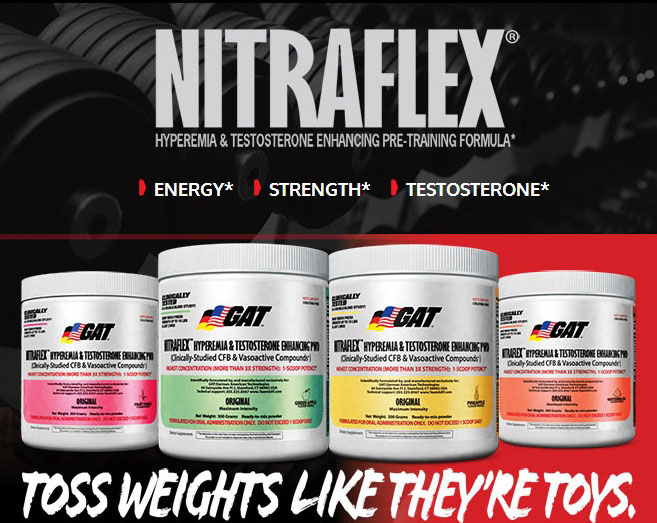 GAT Nitraflex - Hero