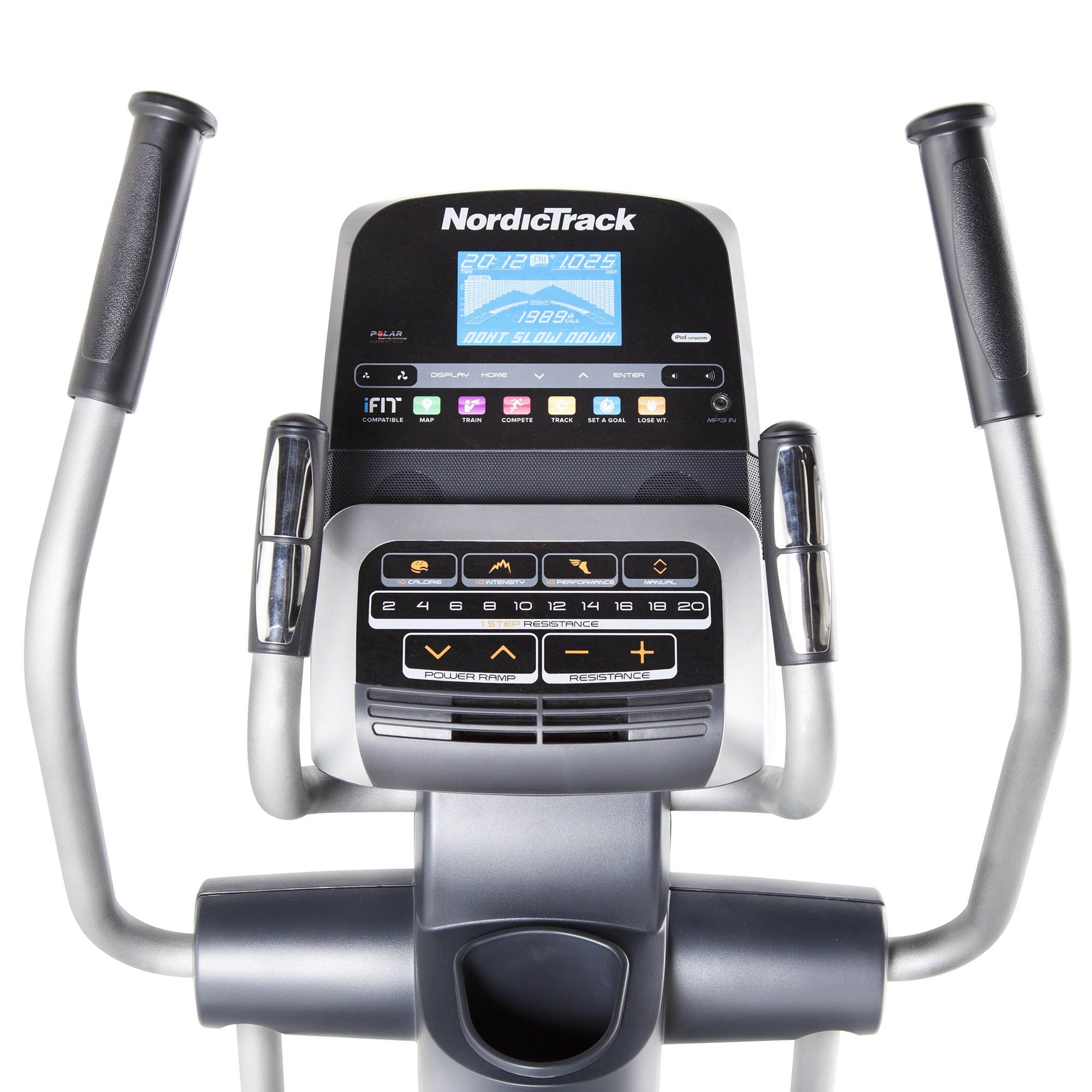 Nordictrack Cross Trainer >> NordicTrack E11.5 Elliptical Cross-trainer - Buy from Fitness Market Australia