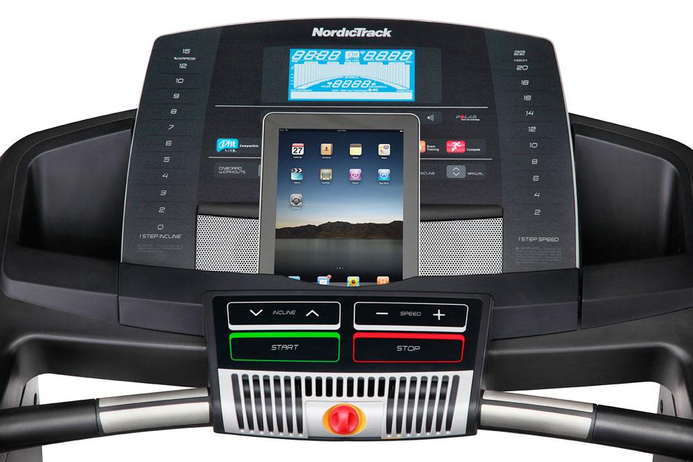 NordicTrack T15.0 Treadmill - Console