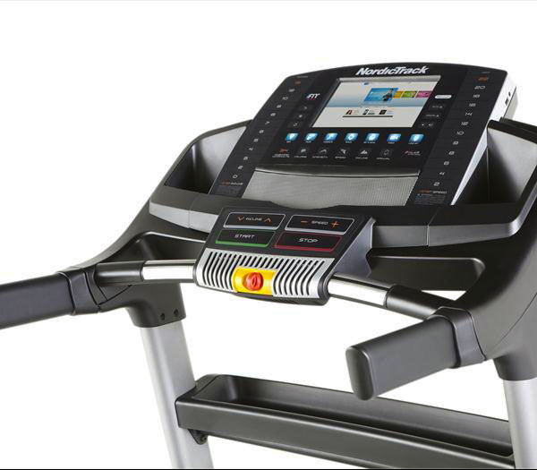 NordicTrack T23 Treadmill - Console and hand rails
