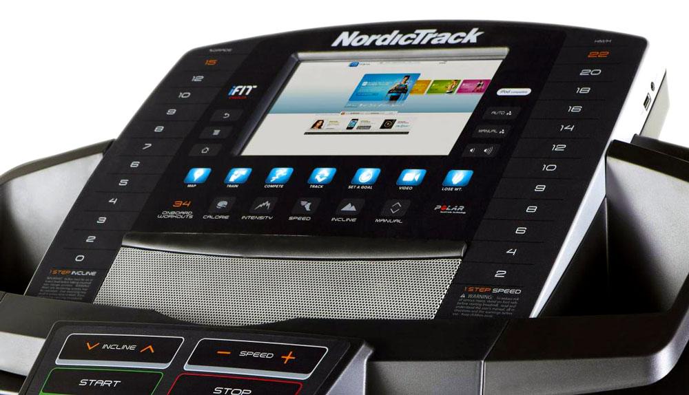 NordicTrack T23 Treadmill - Console