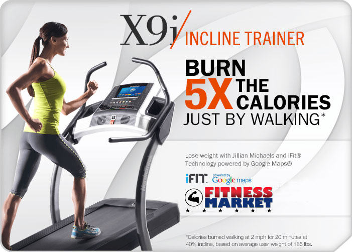 NordicTrack X9i Incline Treadmill - Promo