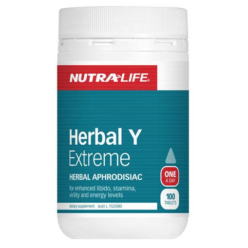 Nutralife Herbal Y Extreme Tablets