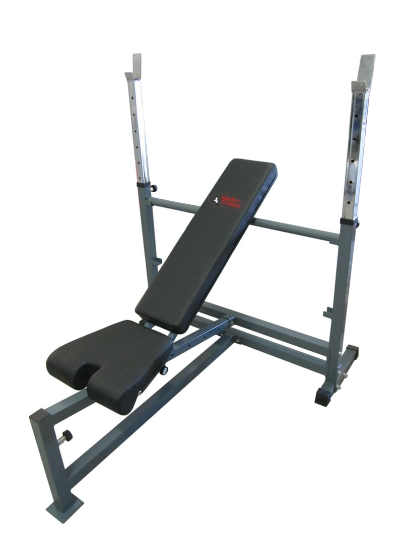 Aquila AQS642 Olympic Bench Press - Demonstration