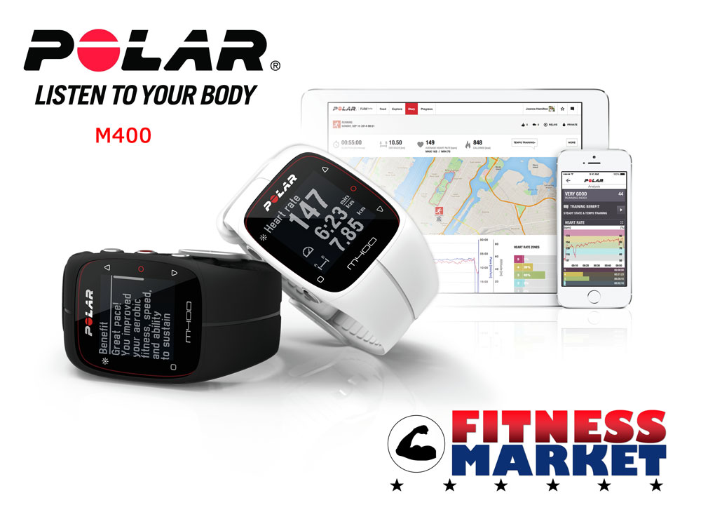 Polar M400 Heart Rate Monitor - System promo