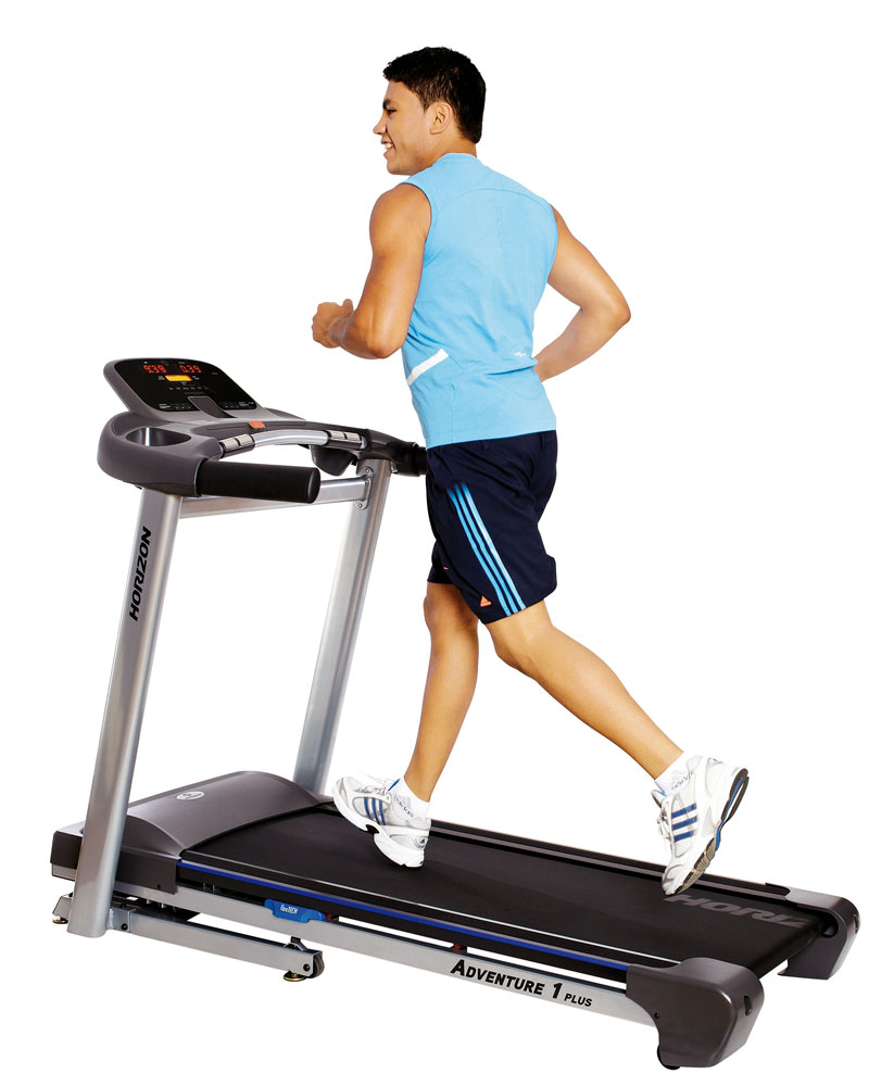 Horizon Adventure 1 Plus Treadmill - Running Man