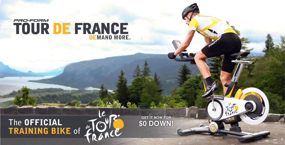 Proform Tour-de-France Spin Bike - Promo 1