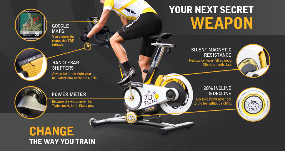 Proform Tour-de-France Spin Bike - Promo 2